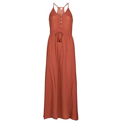 Rip Curl Oasis Muse Dress Kleider Femmes Braun - L - Maxikleider