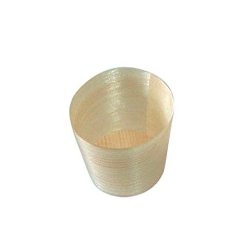 Garcia de pou 500 unité Mini Tasses en boîte, Bois, Naturel, 30 x 30 x 30 cm