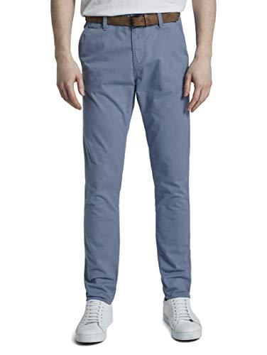 TOM TAILOR Slim Chino Pantaloni, 11013/Paese Inglese, 32/32 Uomo