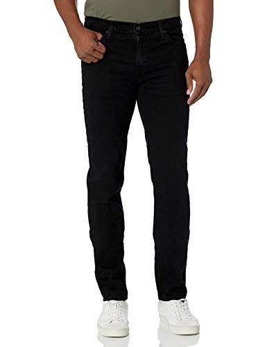 Levi's Herren Jeans 511 Slim Fit Stretch - Schwarz - 42W / 32L