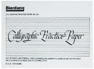 6 Pack CALLIGRAPHY PRACTICE PAD 9x12 Drafting, Engineering, Art (General Catalog)