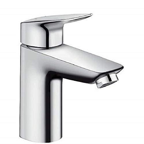 Hansgrohe–71011000–Grifo mezclador de lavabo de baño Mycube L cromo
