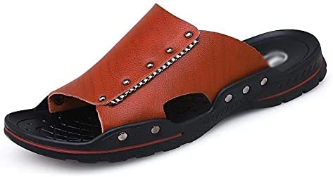 Yuxahiugtuox safety Mens Sandles Comfortable Men Slipper M Sale