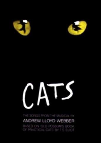 Andrew Lloyd Webber: CATS - Songbook Piano/Vocal/Guitar mit Bleistift -- Die beliebtesten Songs aus dem erfolgreichen Musical u.a. mit MEMORY arrangiert für Klavier, Gesang und Gitarre (Noten/sheet music)