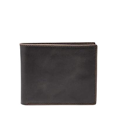 Fossil Men's Anderson Flip ID Bifold Wallet, Black - One Size