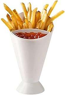 SOLDOUT™ Kitchen Potato Tool Salad Dipping Cup French Fries Fry Chips Cone Assorted Sauce Ketchup Jam Dip Cup Dishes & Pla...