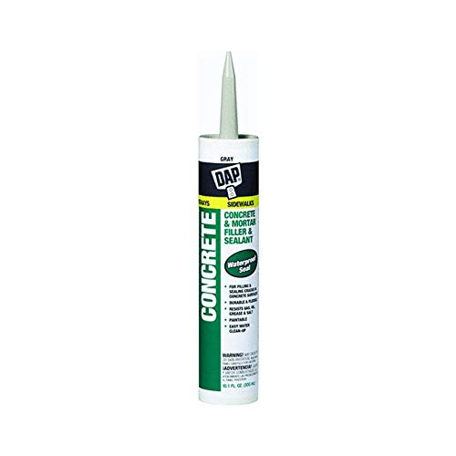 Dap 18096 10.1 oz. Concrete Waterproof Filler and Sealant, Gray (12 Pack)