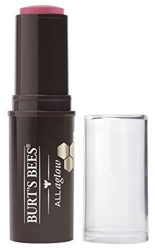 Burt's Bees All Aglow 100% Natürlicher Stick für Lippen & Wangen, Blush Bay - 1 Tube, 8.5 g