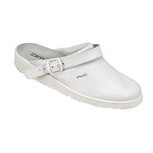 AWC-Footwear Unisex-Erwachsene Classic Arbeitsschuhe, Weiß (Weiß), 40 EU
