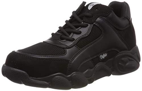 Buffalo Damen Cairo Sneaker, Schwarz (Black 000), 38 EU