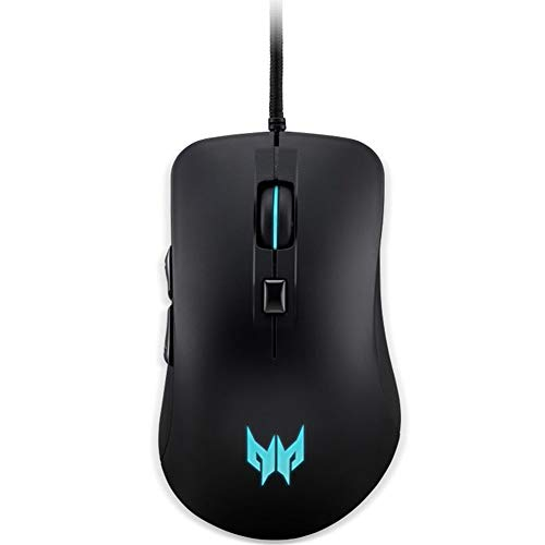 Acer Predator Cestus 310 Gaming Mouse: 4200 On-The-Fly DPI - Breathing Backlit - 6 Button Design - Pixart 3519 Sensor - Black (PMW910)