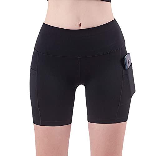 Pantalones cortos de yoga para mujer, de moda, para correr, deportes, cintura alta, levantamiento de glúteos, sexy, 4, XL
