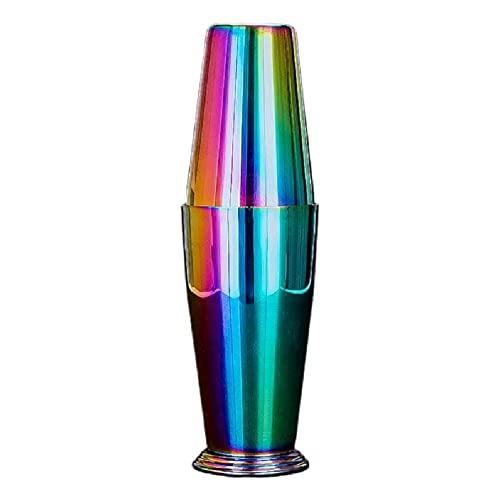 Juego de coctelera de dos piezas Boston Shaker Set Martini Drink Shaker Acero inoxidable Material 2 colores para elegir Martini Shaker set acero inoxidable oro personalizado
