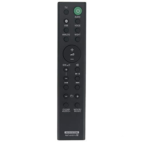 Télécommande VINABTY RMT-AH301U Compatible avec la Barre de Son Sony HTMT300 HTMT301 HT-MT300 HT-MT301 SAMT300 SAMT301 SA-MT300 SA-MT301