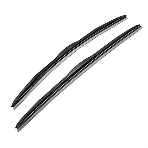 Hojas Repuesto Escobilla Limpiaparabrisas De Coche para Peugeot 4007 2007-2012 Windshield Windowsping Window 24'+20' Accesorios Mute