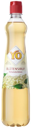YO Sirup Holunderblüte, 3er Pack (3 x 700 ml)
