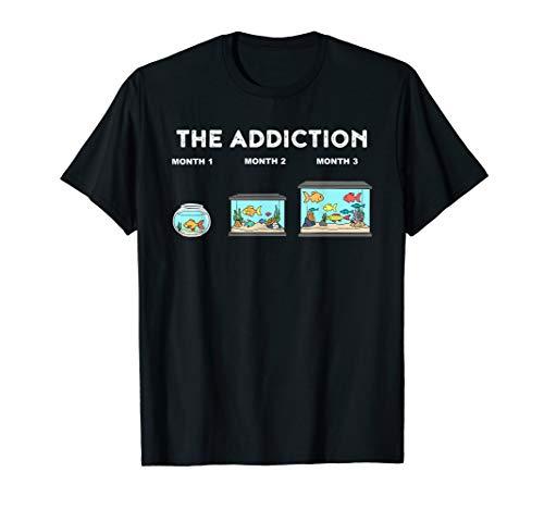 Aquarium Addiction Funny Aquarium T-Shirt