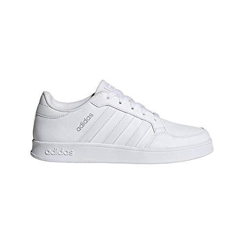 adidas BREAKNET K, Zapatillas de Tenis, FTWBLA/FTWBLA/FTWBLA, 37 1/3 EU