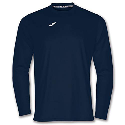 Joma Combi Camisetas Equip. M/L, Hombre, Marino Oscuro, 2XL-3XL