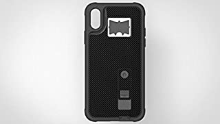 iPhone X Case, Multi-Functional Hybrid Built-in Cigarette Lighter & Bottle Opener Protective Shock Proof Case Cover for Apple iPhone X/XS, XR, XS Max Black (Apple iPhone XR)
