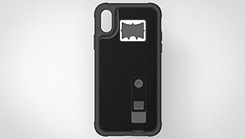 iPhone X Case, Multi-Functional Hybrid Built-in Cigarette Lighter & Bottle Opener Protective Shock Proof Case Cover for Apple iPhone X/XS, XR, XS Max Black (Apple iPhone X)