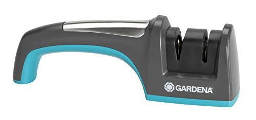 Gardena Messer- und Axtschärfer: Schleifgerät zum Schärfen von Messer- und Axtklingen, ergonomischer Griff, rostfreie Edelstahleinlage (8712-20)
