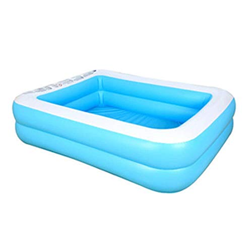 Summer Thicked Inflatable Swimming Pool Family Kids Adult Play Bad tub Outdoor Indoor Water Swimming Pool 155X108X46cm
