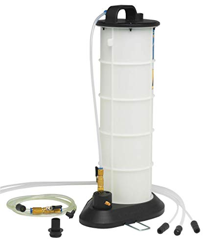 Mityvac MV7300 Pneumatic Air Operated Fluid Evacuator with Accessories for Draining Engine Oil or Transmission Fluid Directly Through the Dipstick Tubes