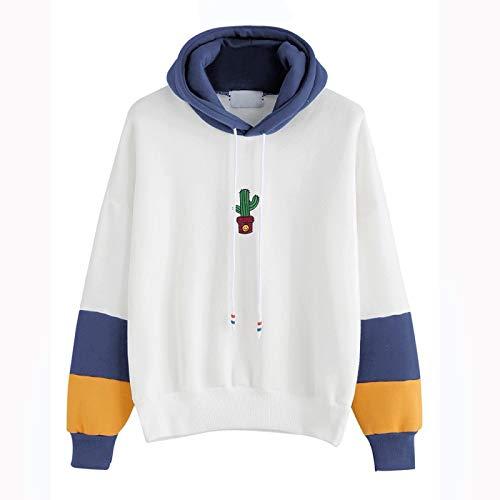 Jersey Suéter Sweater Sudaderas Y Sudaderas con Capucha para Mujer Tops De...