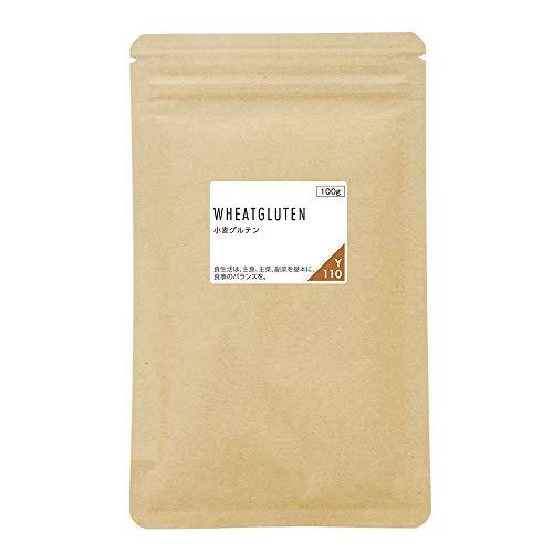 nichie 小麦グルテン粉 ドイツ産 非遺伝子組換原料使用 100g