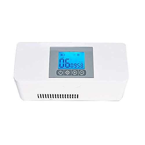 Nevera Portátil de Insulina, Portátil de Refrigeración de Medicamentos Pequeño Refrigerador por La Medicación de Refrigeración de Aislamiento, Alta Temperatura de Alarma