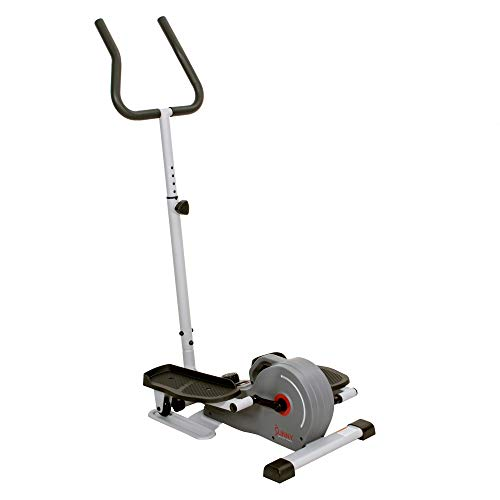 Product Image 17: Sunny Health & Fitness Magnetic Standing Elliptical with Handlebars – SF-E3988, Grey
