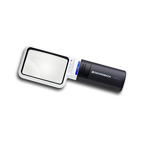 ESCHENBACH OPTIK Lupe Handlupe mit LED-Beleuchtung mobiluxLED Vergrößerung: 3,5x Linsengröße: 75x50mm