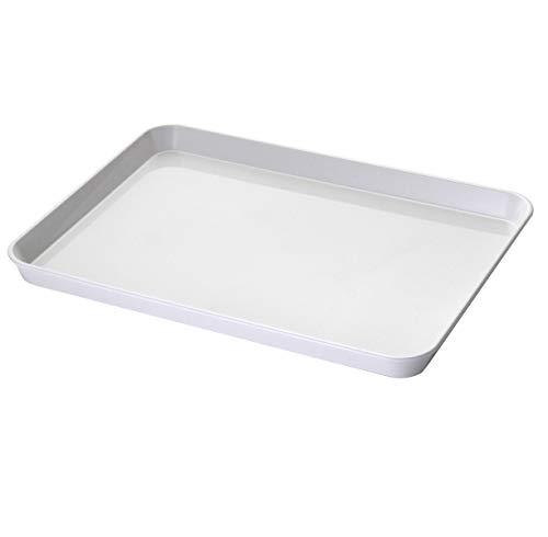PEGANE Plateau rectangulaire en ABS Blanc - 30 x 40 cm