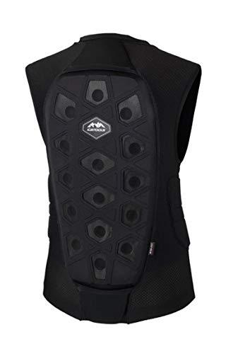 Icetools Rückenprotektor EVO Vest 19, Größe:S, Farben:Black