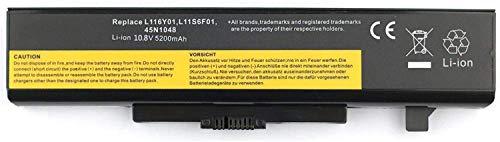 onlyguo 10.8V 5200MAH L11L6F01 L11O6Y01 L11P6R01 L11S6F01 L11S6Y01 Batería de Repuesto para Lenovo IdeaPad G580 Z580 Y480 G480 G485 Z380 Y480N