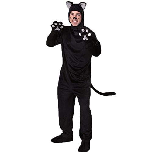 YyiHan Cosplay Disfraz, Pareja Catwoman Catwoman Diablo Disfraces de Animales Fase Piel...
