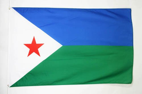 AZ FLAG Djibouti Flag 3' x 5' - Djiboutian Flags 90 x 150 cm - Banner 3x5 ft