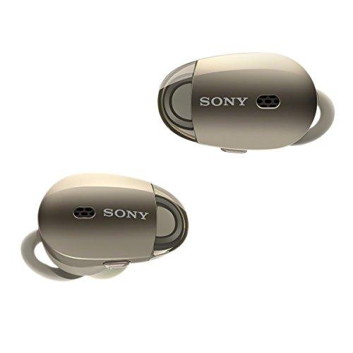 Sony WF-1000X Écouteurs Bluetooth à Réduction de Bruit - Champagne