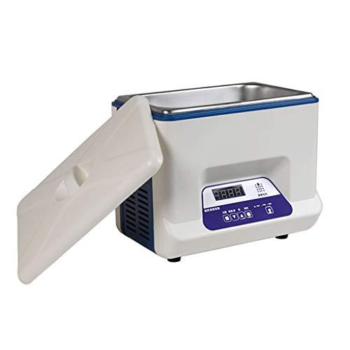 BBGS Profesional Limpiador Ultrasónico con Pantalla Digital para La Limpieza de Joyas, Gafas, Elementos Dentales, Metales Preciosos Y Cabezales de Impresión