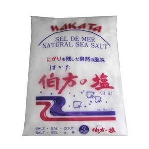 伯方の塩 1kg×(6個)     JAN:4902566004019