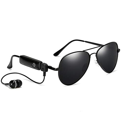 XU Gafas de sol polarizadas de moda Gafas de sol estéreo inteligentes con Bluetooth para escuchar música mientras se conduce 02