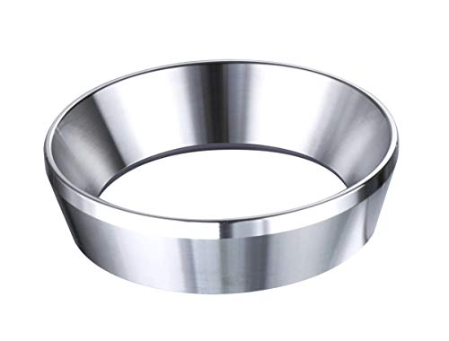 58mm Espresso Dosing Funnel Stainless Steel Coffee Dosing Ring Fits 58mm Portafilter Funnel