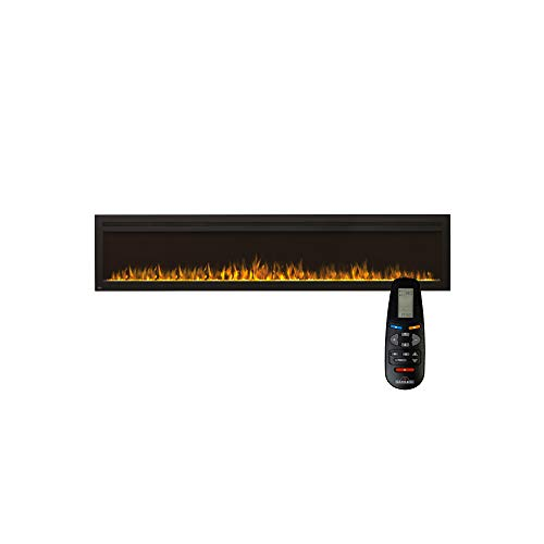 Napoleon Premium Fire - Purview™ Series (100) - Elektrokamin, kamin elektrisch, elektrischer Wandkamin, kaminofen elektro, kaminfeuer elektrisch, Heizung, 3D LED Flamme & inkl. Fernbedienung - schwarz