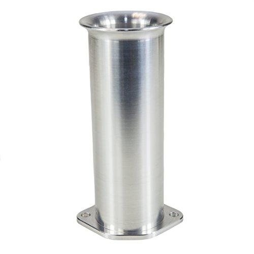 Ramair Filters Bot-40–125–1PK único Weber dcoe 40mm perno de velocidad pila de trompeta, 125mm