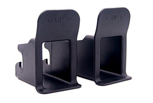 Storchenbeck - Sistema de fijación para asientos de coche Isofix (2 unidades)