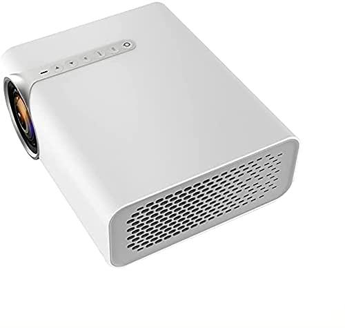LED con proyector USB 1080P HD para Sistema de Cine en casa YG530 Reproductor de Video de películas portátil (Tamaño: YG520 Blanco) (Tamaño: YG520 Blanco)