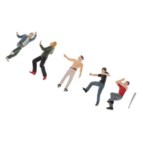 Sharplace 1:64 S Bemaltes Miniatur Arbeiter Menschen Modell Figuren Spielzeug - C