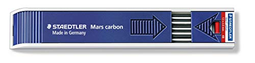 Staedtler Mars Carbon Lead, 2mm, 4B, 12 Lead (200-4B)