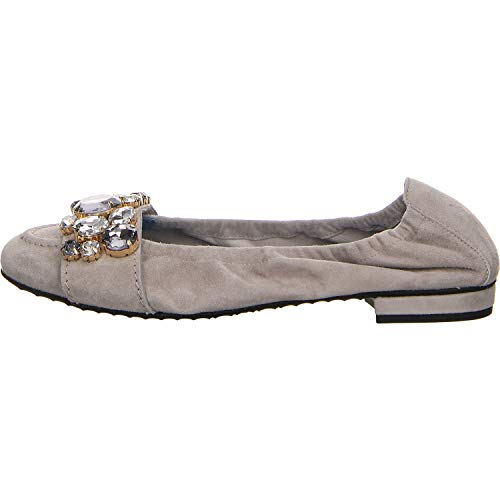 Kennel + Schmenger Damen Ballerinas 91 10450.506 grau 584856
